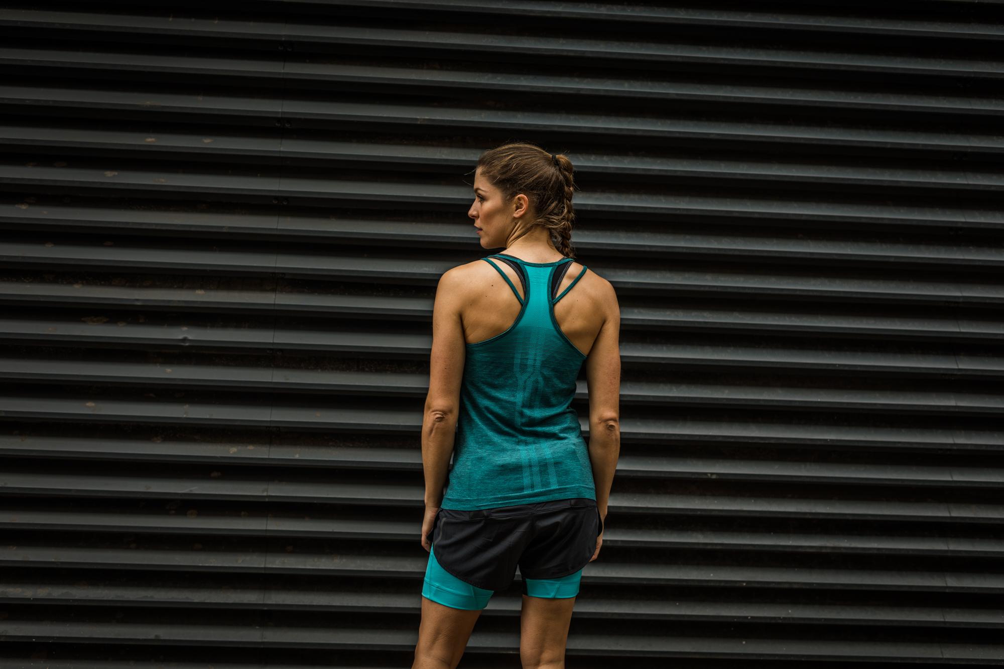 bedda11f6dc Ronhill Women's Infinity Marathon Tank Peacock Marl - Toppe ...