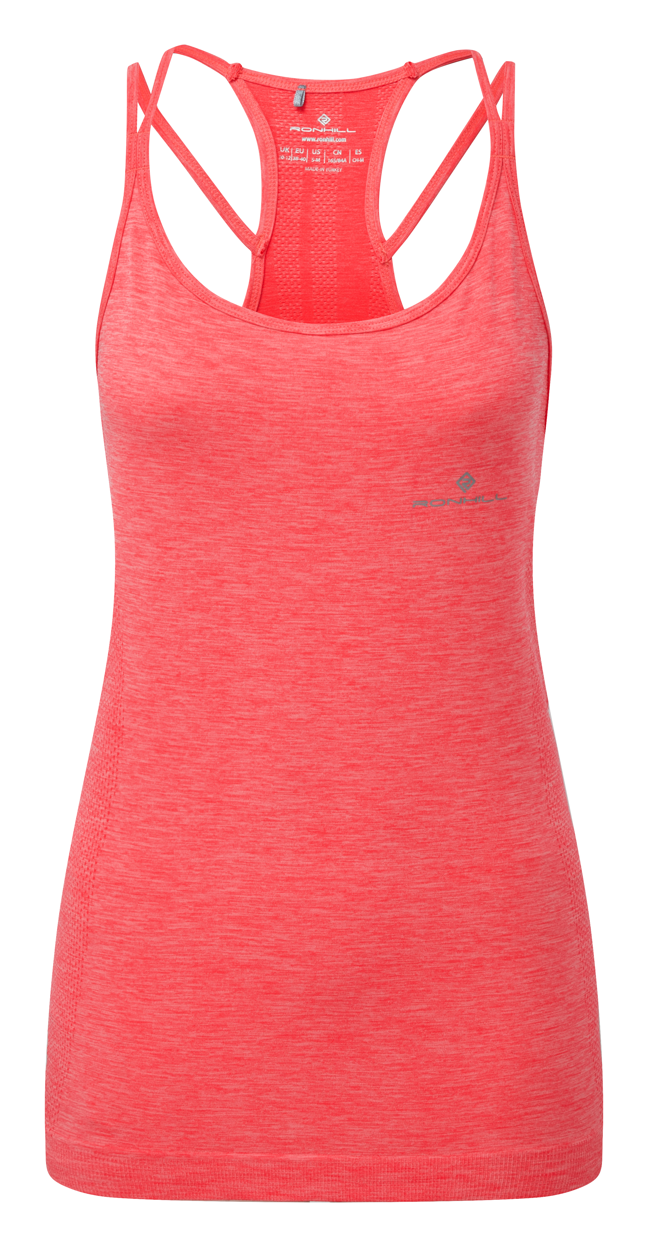 58329edf426 Ronhill Women's Infinity Marathon Tank Hot Pink Marl - Toppe ...