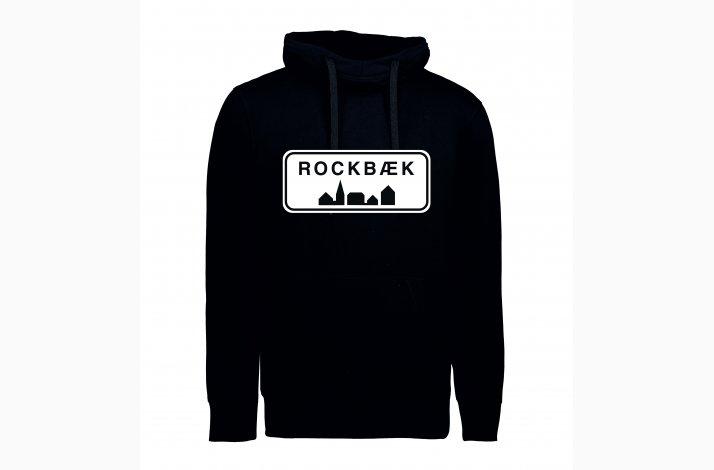 Rockbæk Sort Hoodie