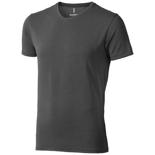 Kawartha T shirt med V hals BomuldElastan Poloer og T